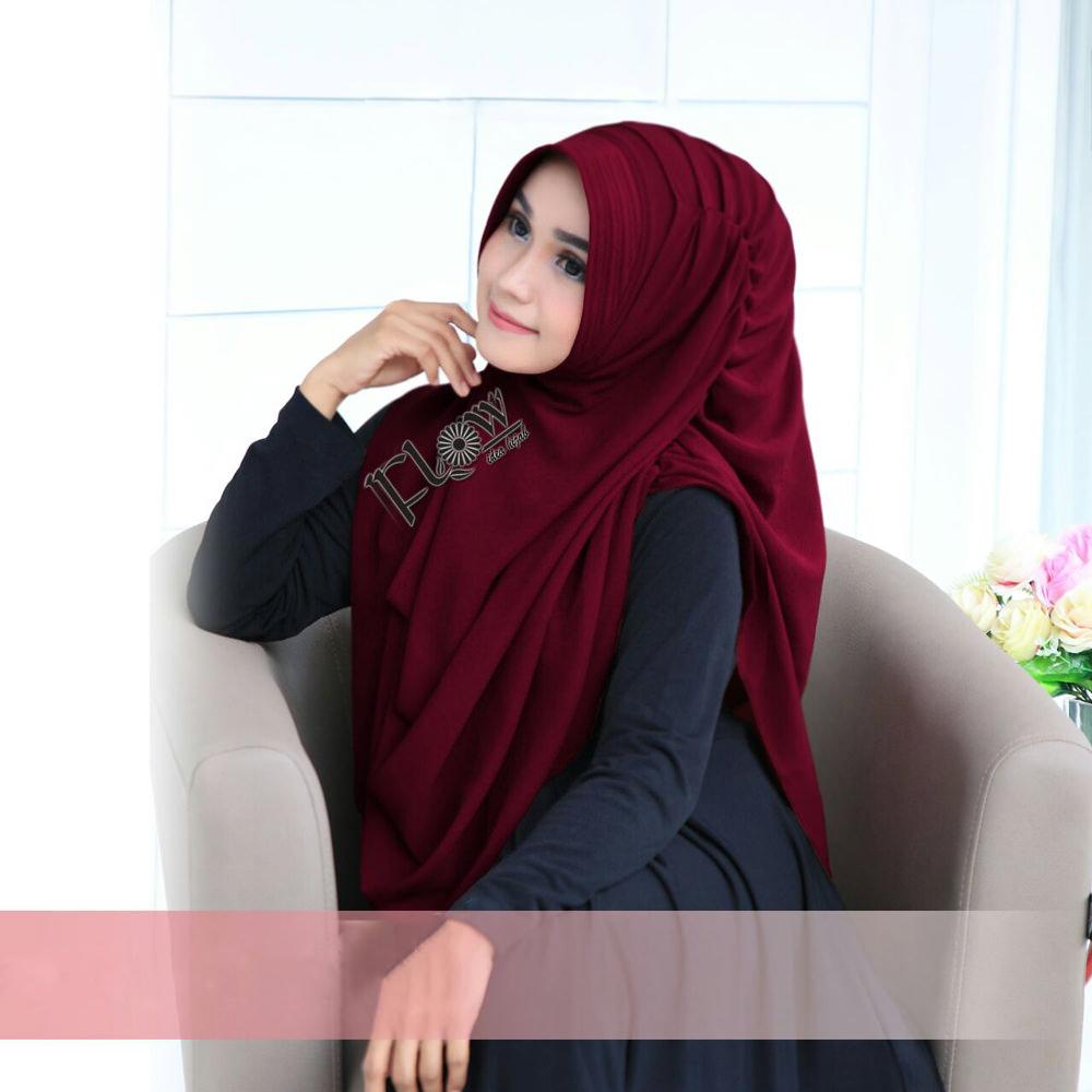 Jilbab Dravina Premium Merah