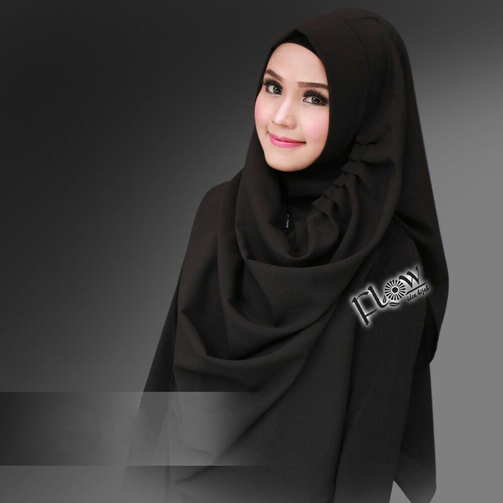 Jilbab Instant LCB Premium Hitam