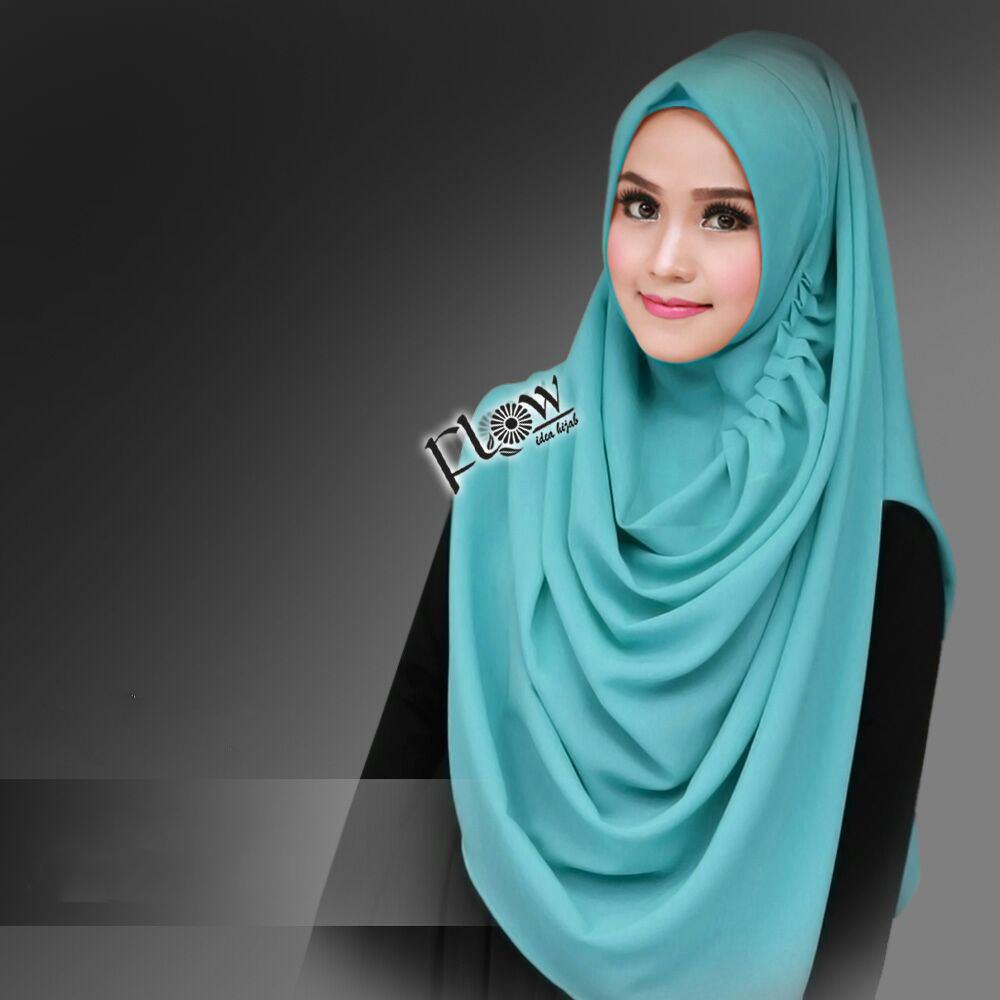Jilbab Instant LCB Premium Mint