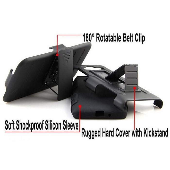 Armor Hybrid & Belt Clip Phone Case 5