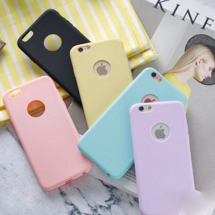 Candy Colorful iPhone Soft Case