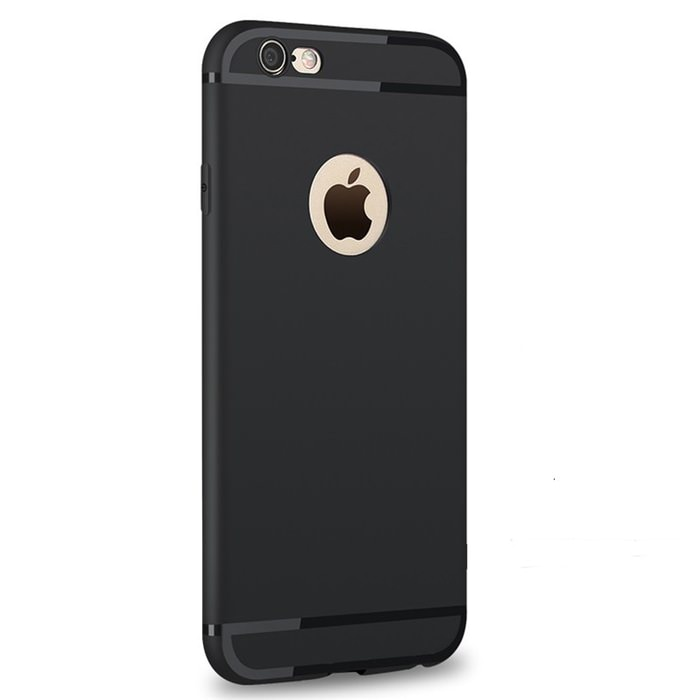 Luxury Back Matte Soft Silicone iPhone Case 2