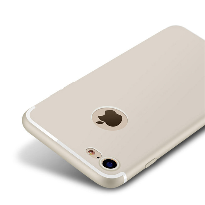 Luxury Back Matte Soft Silicone iPhone Case 3