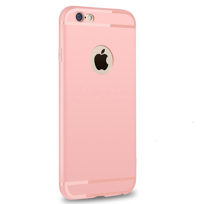 Luxury Back Matte Soft Silicone iPhone Case