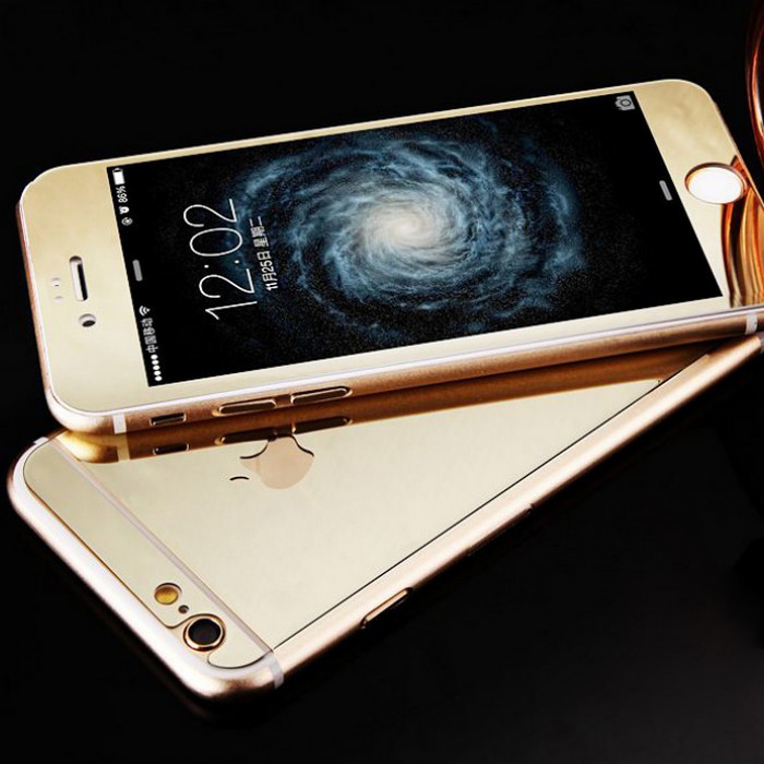 Mirror Tempered Glass iPhone Case 4