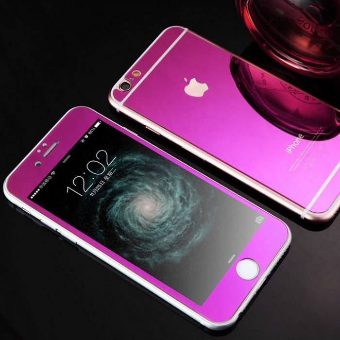 Mirror Tempered Glass iPhone Case