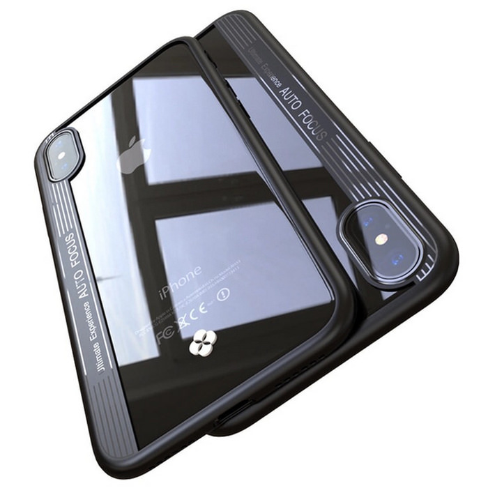 New Cristal Silicone iPhone X 2