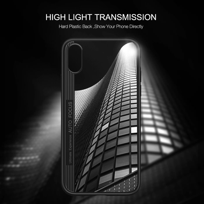 New Cristal Silicone iPhone X 4