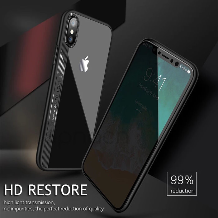 New Cristal Silicone iPhone X 5