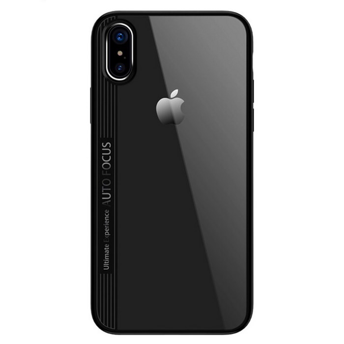 New Cristal Silicone iPhone X