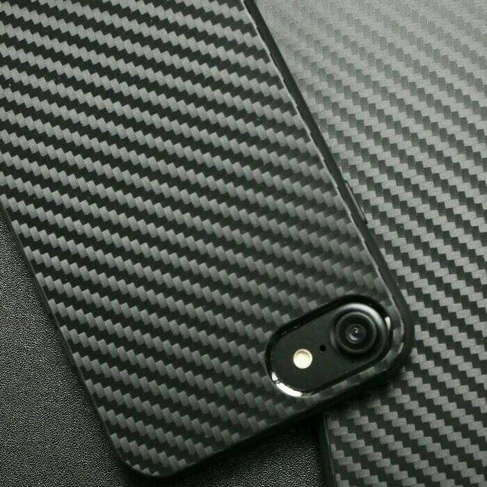 Soft Carbon iPhone Case