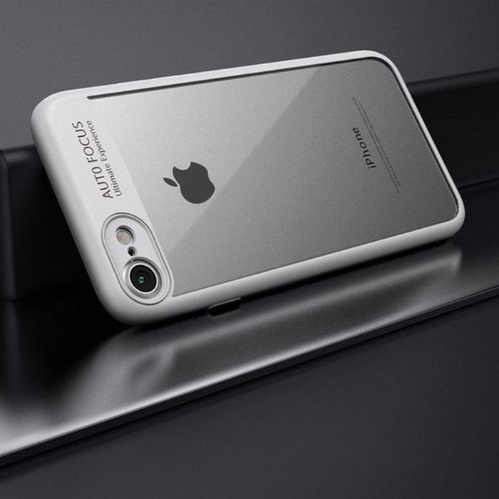 Soft Frame Transparent Hard Back iPhone Case 2