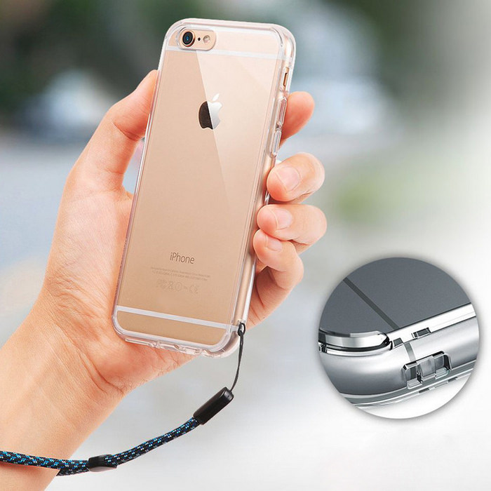 Transparent Jelly iPhone Soft Case