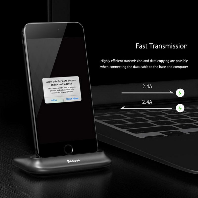 Docking Charger Lightning iPhone 3
