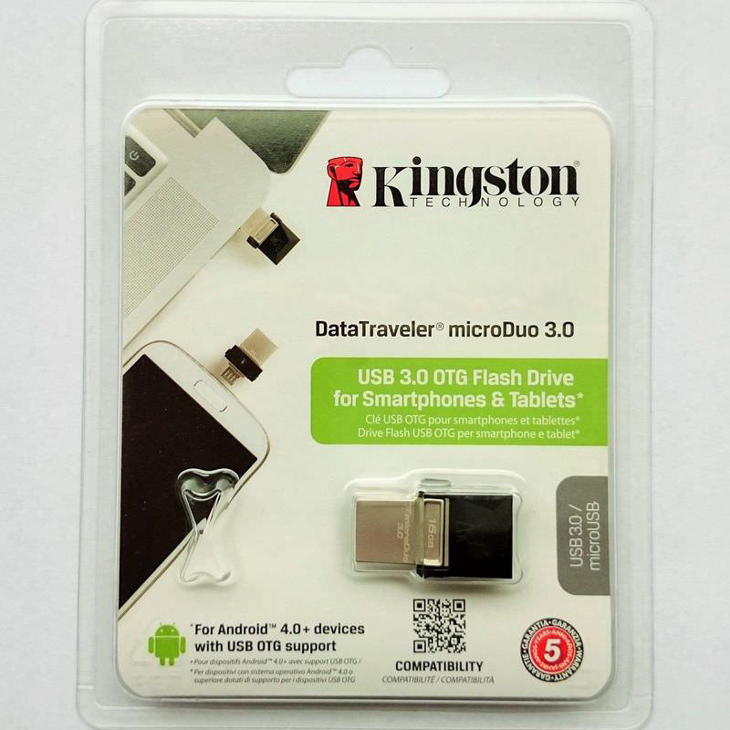 Kingston DTDUO3 Flashdisk USB OTG Android 2