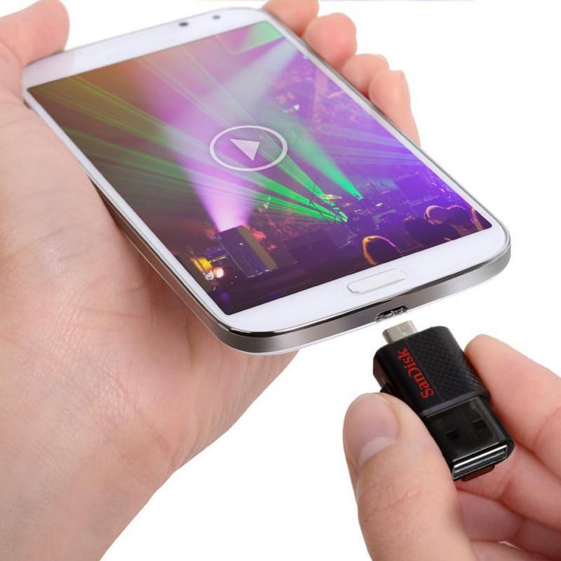 Sandisk Flashdisk OTG Ultra Dual Drive 3.0 Android 3